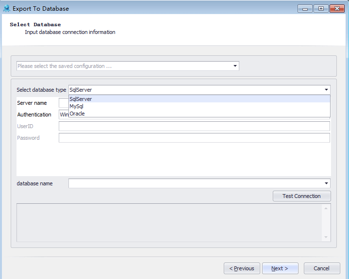 Export The Extracted Data into Databases Or Excel Sheets Or Other