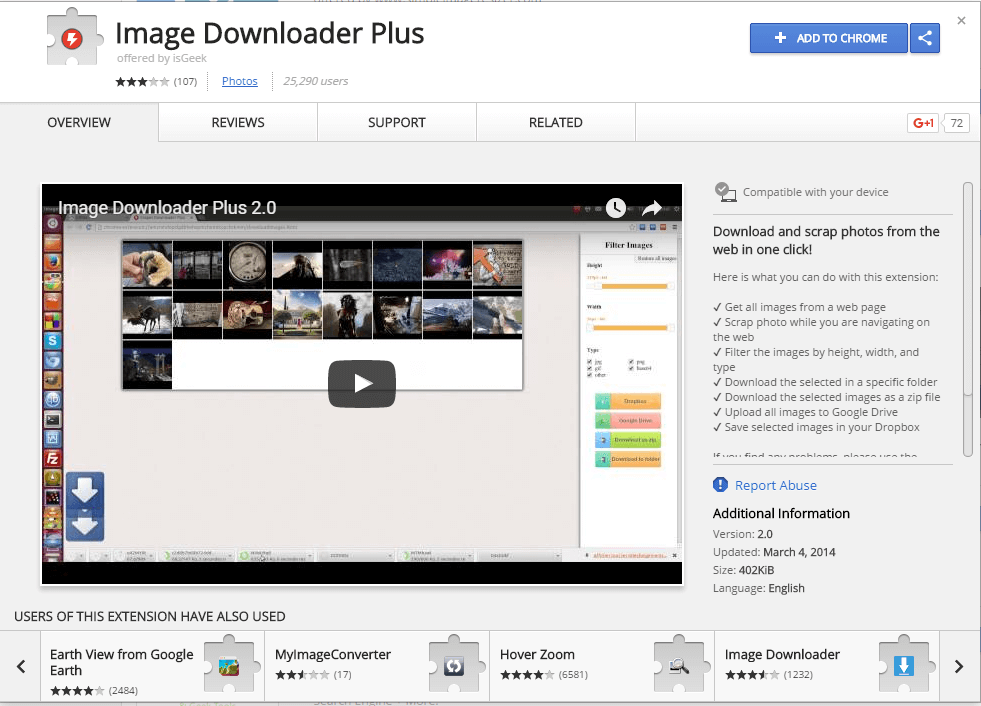 Image Downloader Plus