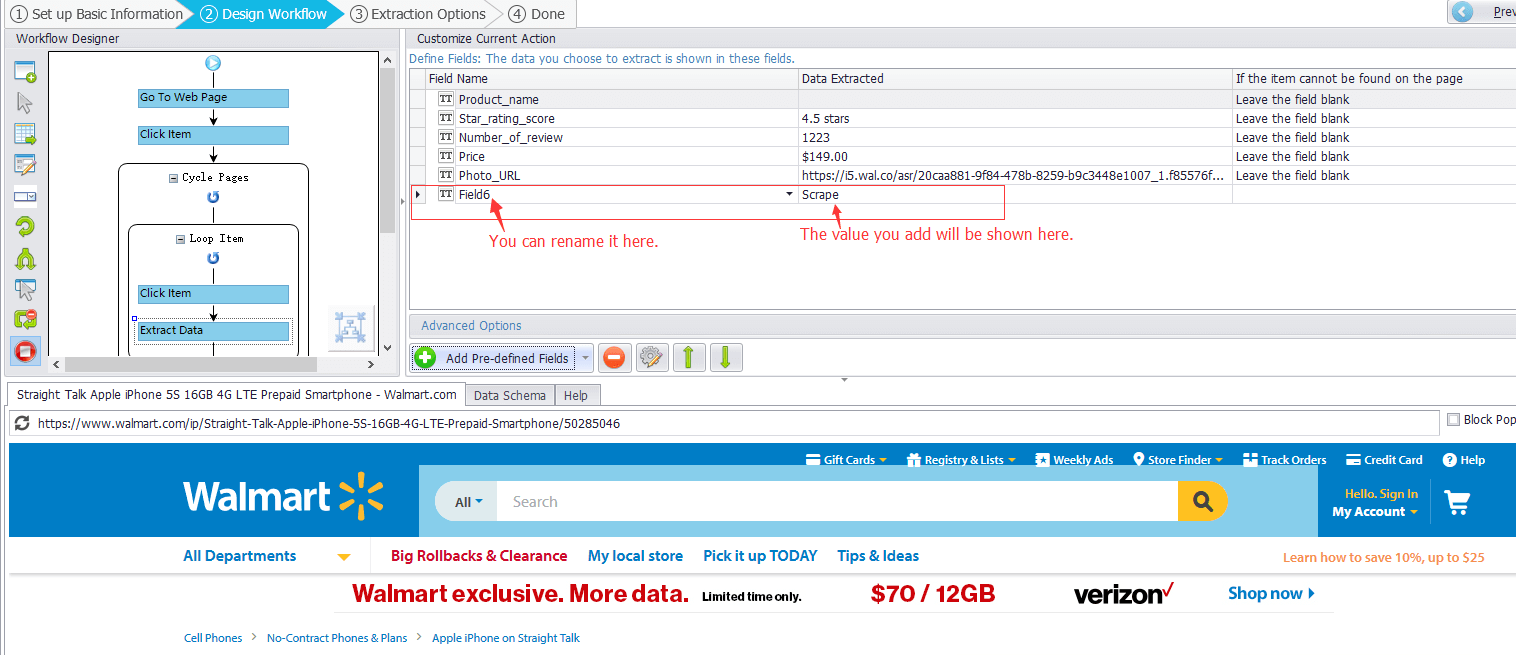 Add a Fixed Value When Scraping in Octoparse   Octoparse