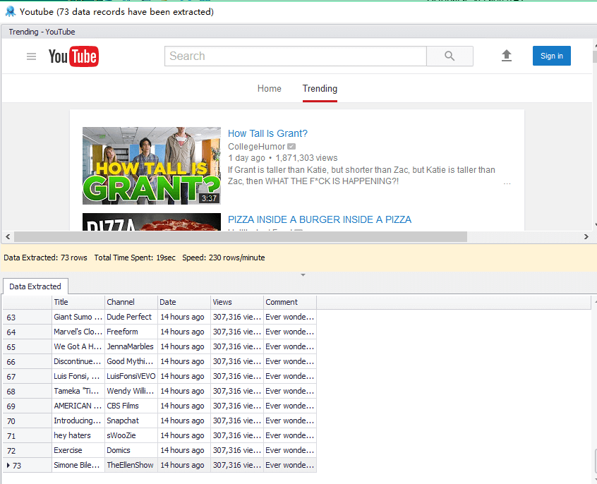 Web Scraping Case Study | Scraping Data from Youtube | Octoparse
