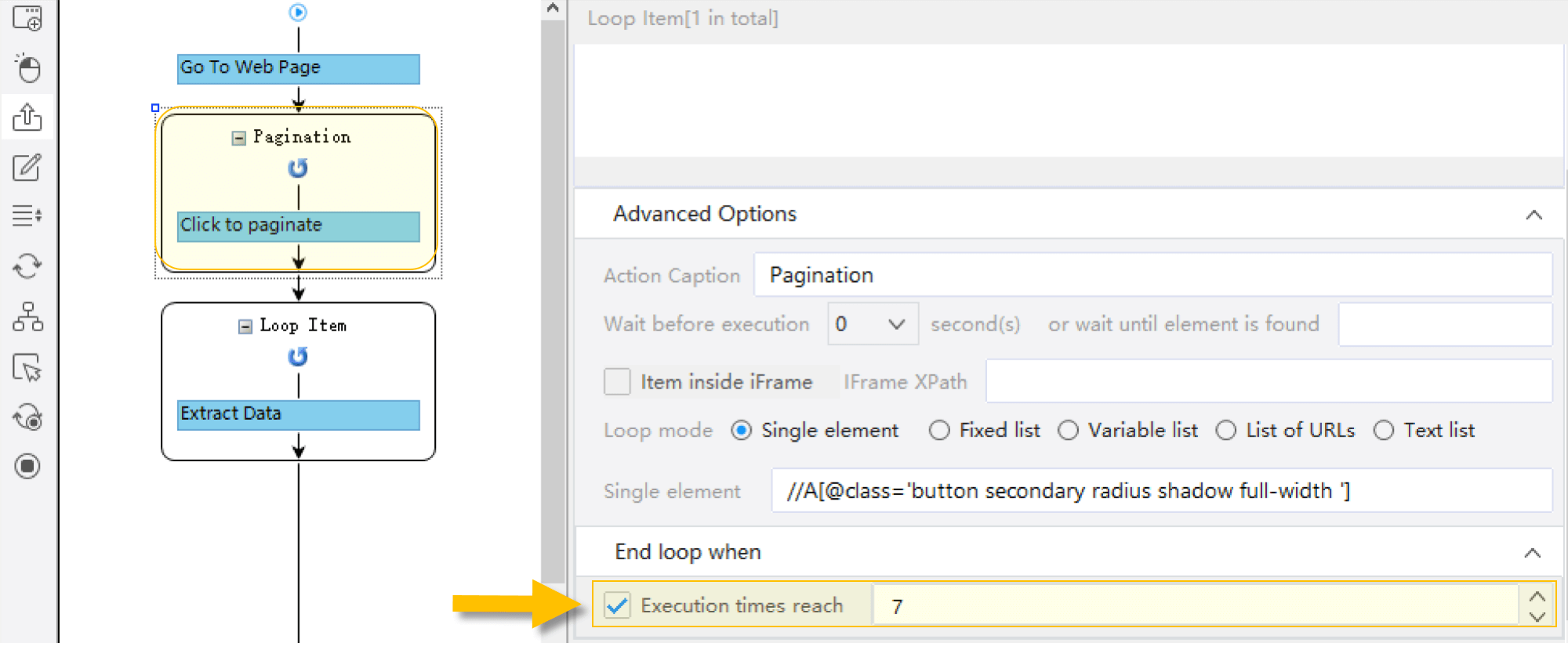 Scraping with load more button